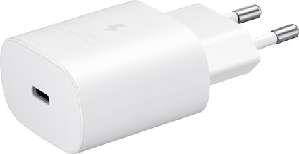 Samsung Charger Without Cable 25W Super Fast Charging 2.0/Power Delivery White