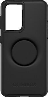 OtterBox Otter + Pop Symmetry Samsung Galaxy S21 Back Cover Black