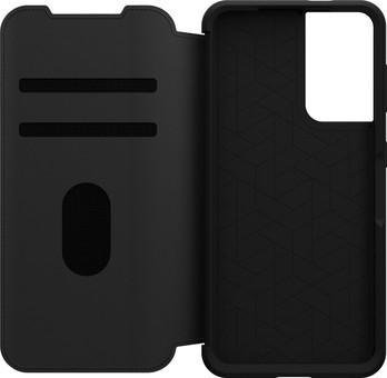 OtterBox Strada Samsung Galaxy S21 Book Case Leather Black