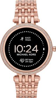 Michael Kors Darci Gen 5E Display MKT5128 Rose Gold/Rose Gold