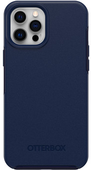 OtterBox Symmetry Plus Apple iPhone 12 Pro Max Back Cover with MagSafe Magnet Blue