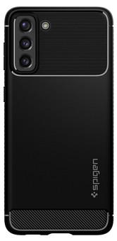 Spigen Rugged Armor Samsung Galaxy S21 Back Cover Black