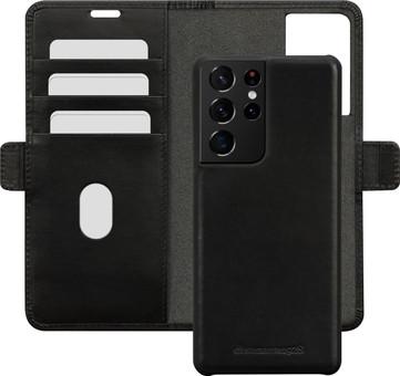 DBramante1928 Lynge Samsung Galaxy S21 Ultra 2-in-1 Cover Leather Black