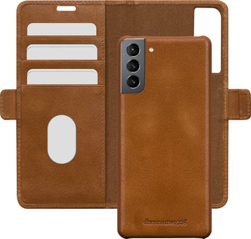 DBramante1928 Lynge Samsung Galaxy S21 Plus 2-in-1 Cover Leather Brown