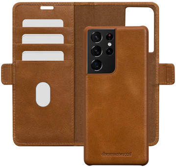 DBramante1928 Lynge Samsung Galaxy S21 Ultra 2-in-1 Cover Leather Brown