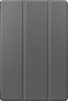 Just in Case Tri-Fold Samsung Galaxy Tab S7 Plus Book Case Gray