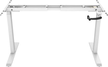 Euroseats Hand Crank Adjustable Sit-Stand Frame White