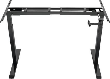 Euroseats Hand Crank Adjustable Sit-Stand Frame Black