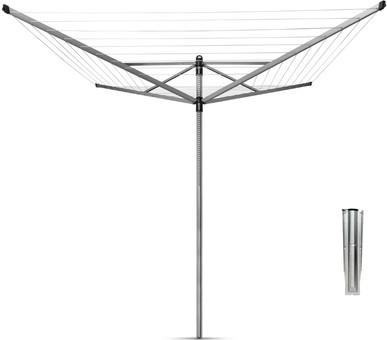Brabantia Lift-o-Matic Umbrella Drying Rack 40m + Anchor