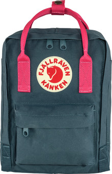 Fjällräven Kånken Mini Royal Blue-Flamingo Pink 7L - Children's backpack