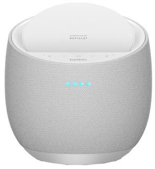 Belkin Soundform Elite HiFi Smart Speaker with Alexa and AirPlay 2 White