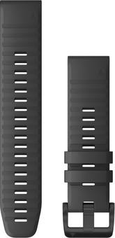 Garmin Silicone Strap Gay/Black 22mm