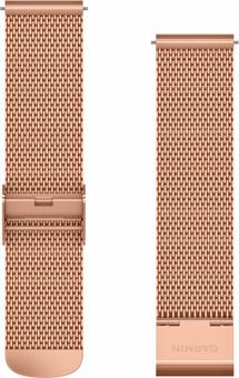 Garmin Milanese Strap Rose Gold 20mm