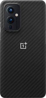 OnePlus 9 Karbon Back Cover Black