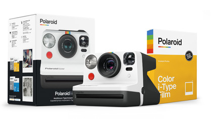 Polaroid Now Black/White + Color Instant Film for I-type
