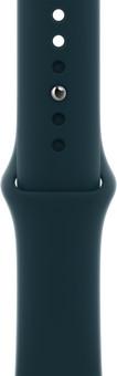 Apple Watch 38/40mm Silicone Watch Strap Sport Mallard Green