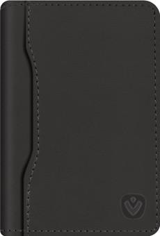 Valenta Snap Card Wallet Leather Black