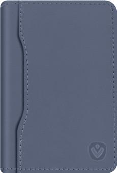 Valenta Snap Card Wallet Leather Blue