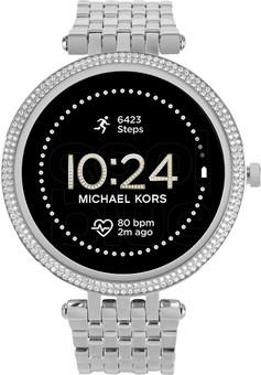 Michael Kors Darci Gen 5E Display MKT5126 Silver/Silver