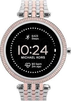 Michael Kors Darci Gen 5E Display MKT5129 Silver/Rose Gold