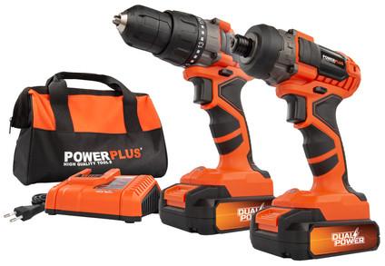 Powerplus Dual Power POWDP1550 Combi Set