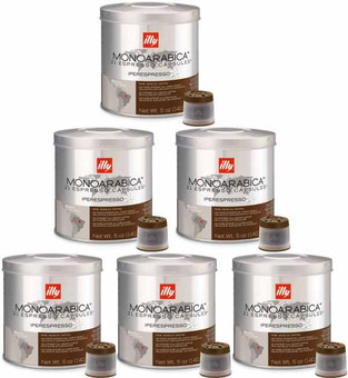 Illy Mie Capsules Brazil 6 x 21 pieces