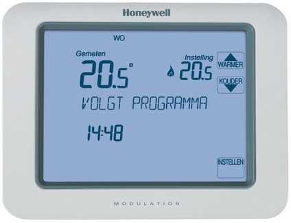Honeywell Chronotherm Touch Modulation