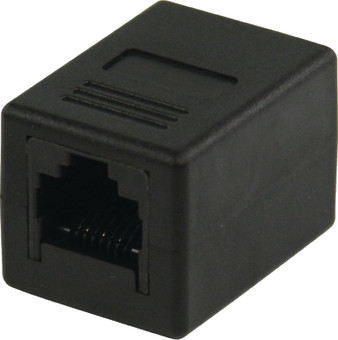 Valueline RJ45 CAT5 Coupling Black