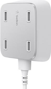 Belkin Family Rockstar USB Hub 2.4A White