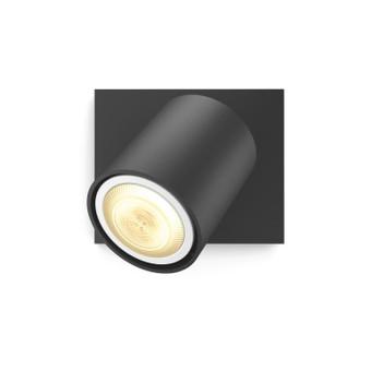 Philips Hue Runner Mounted Spot White Ambiance 1 Light Black Bluetooth + Dimmer
