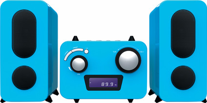 Bigben Microset Radio/CD Player Blue
