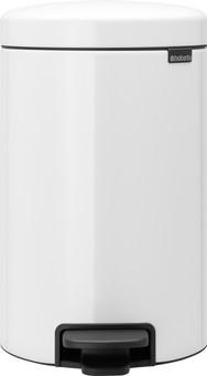 Brabantia NewIcon Pedal bin 12 Liter White