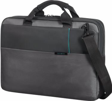 """Samsonite Qibyte Shoulder Bag 15.6"""" Anthracite"""