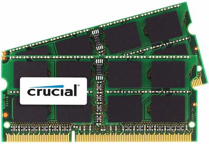 Crucial Apple 8GB SODIMM DDR3-1600 2x 4GB