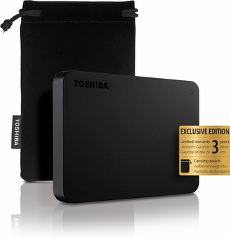 Toshiba Canvio Basics Exclusive 4TB
