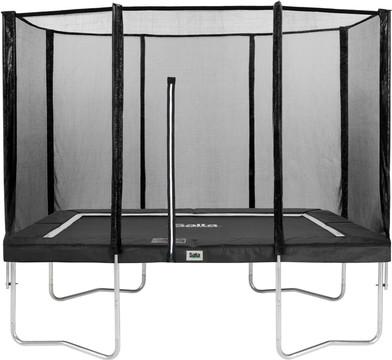 Salta Rechthoekig met veiligheidsnet 153 x 214 cm Zwart