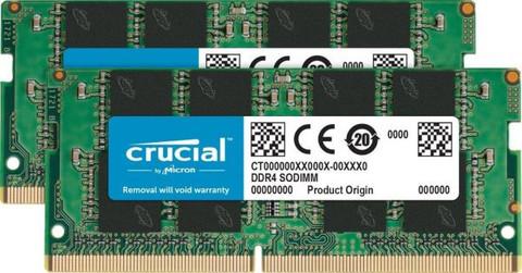 Crucial 16 GB SODIMM DDR4-2400 Kit 2 x 8 GB