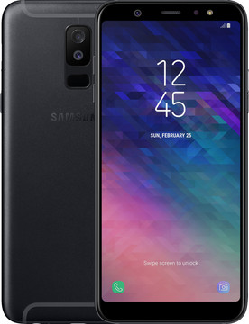 Samsung Galaxy A6 Plus (2018) Zwart BE