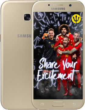 Samsung Galaxy A5 (2017) Goud BE WK