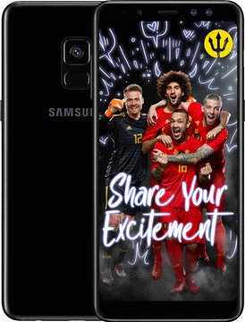 Samsung Galaxy A8 (2018) Zwart BE WK