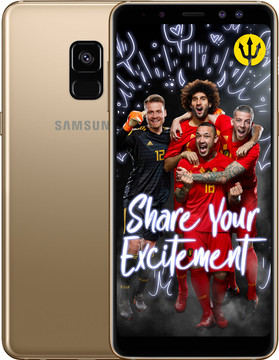 Samsung Galaxy A8 (2018) Goud BE WK