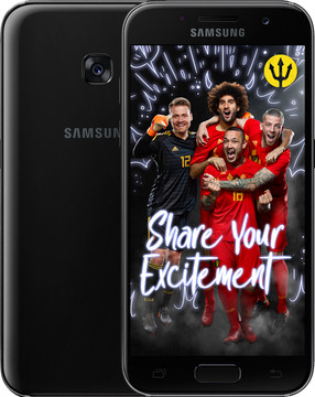 Samsung Galaxy A3 (2017) Zwart BE WK