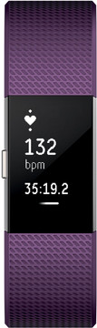 Fitbit Charge 2 Plum/Silver - S