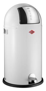 Wesco Kickboy 40 Liter Wit