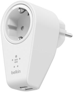 Belkin 2-poorts Thuislader met stopcontact