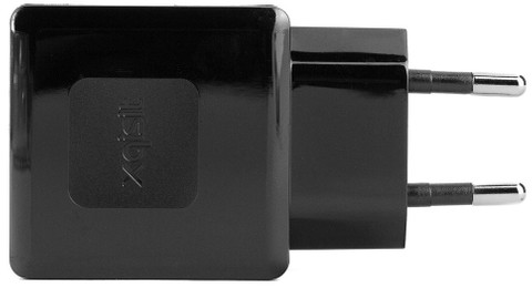 Xqisit Thuislader 2x USB 2,4Ah Zwart