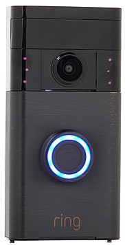 Ring Video Doorbell Zwart