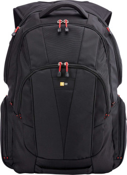"""Case Logic Backpack 15,6"""" Black Red"""