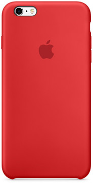 Apple iPhone 6/6s Silicone Case Rood