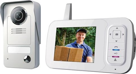 Smartwares Draadloze Video Intercom VD38W